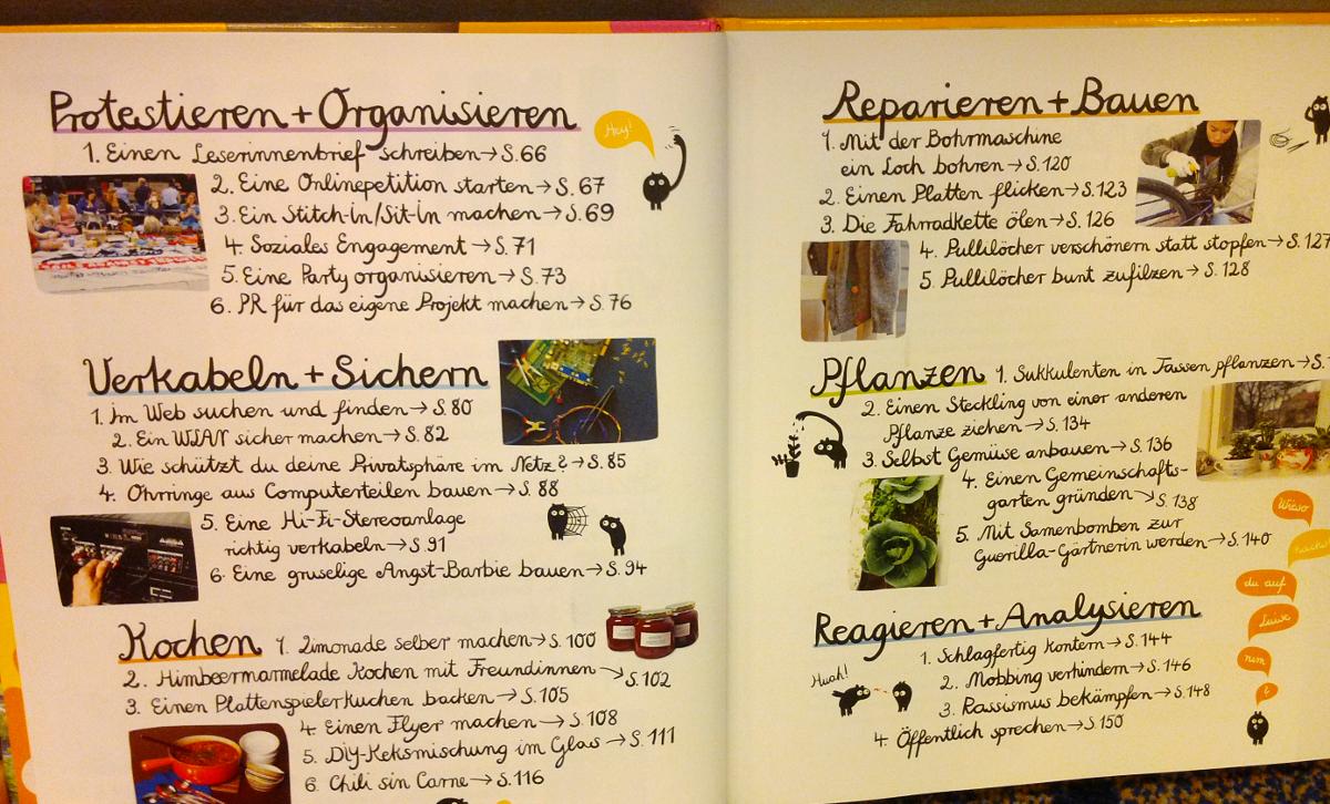 Mach's selbst: Klasse DIY-Buch (nicht nur!) für Mädchen
