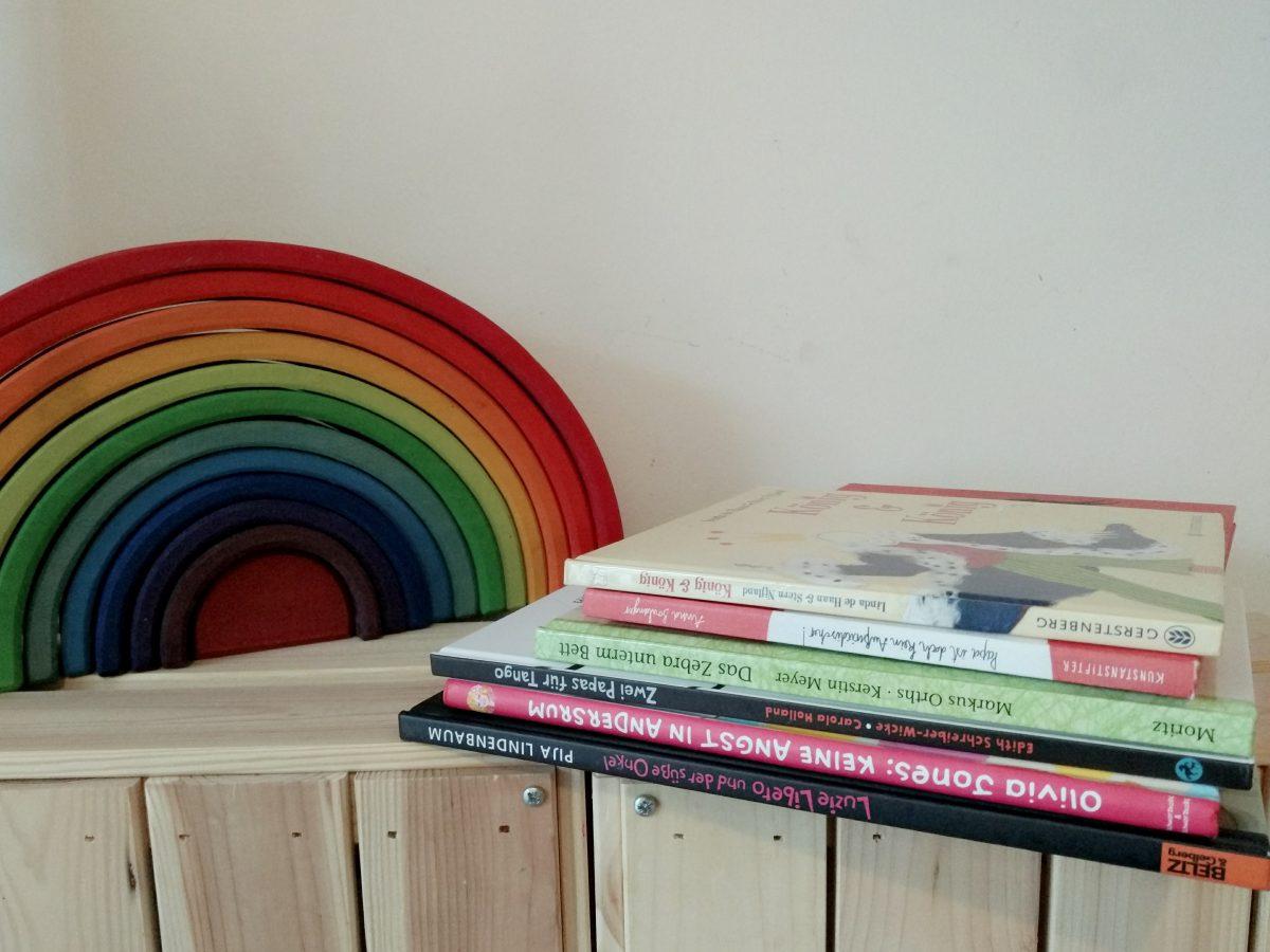 6 schwule Kinderbücher