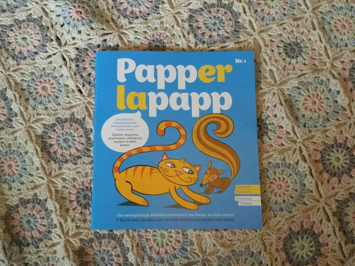 Papperlapapp! Eine zweisprachige Bilderbuchzeitschrift für Kinder ab fünf Jahren