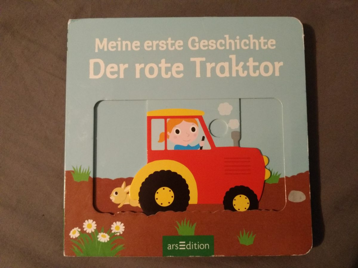 Marie, die Traktorfahrerin