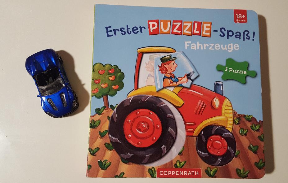 Puzzle-Spaß mit Brummbrumms