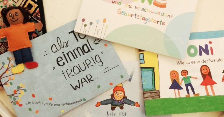 Ein Interview mit Verena Tschemernjak, der Macherin der gendersensiblen Toni-Kinderbücher