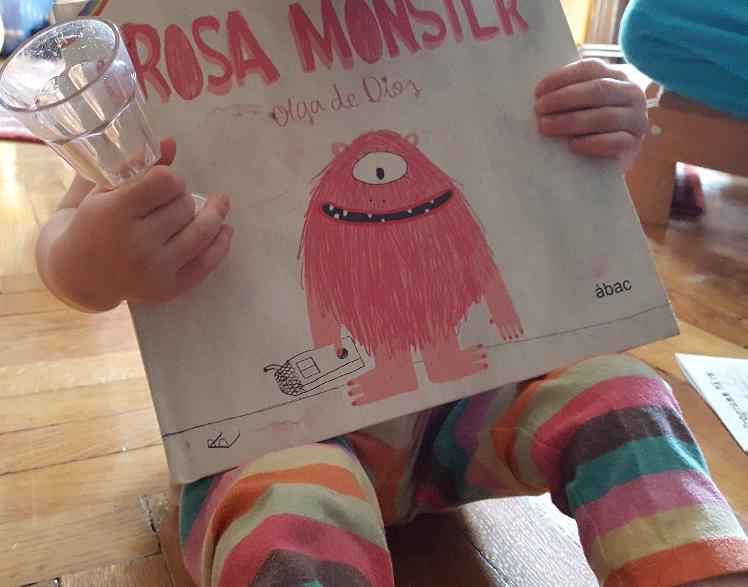 Rosa Monster für Freiheit & Vielfalt