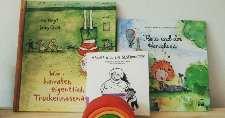 Prinzessinnen und Mütter: Lesbische Frauen in Kinderbüchern