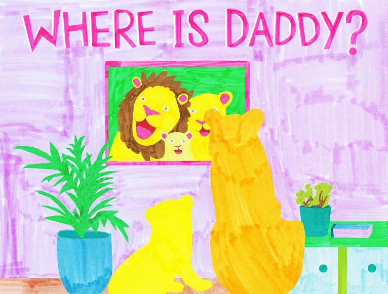 """Gewinnspiel zur Kickstarter-Kampagne von """"Where is Daddy?"""""""