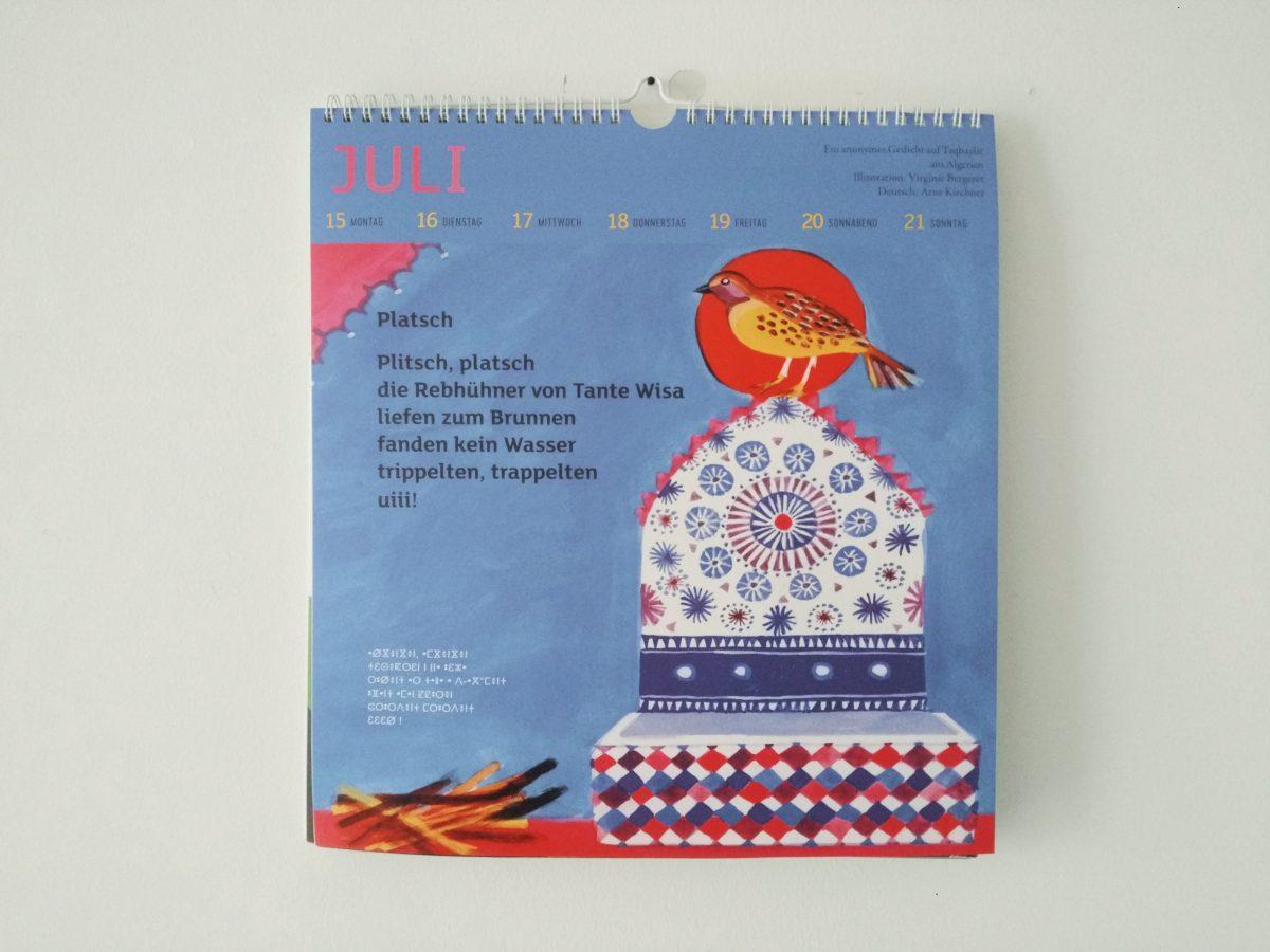 Der Kinder Kalender Der Internationalen Jugendbibliothek