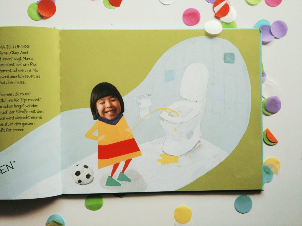 """© Illustrationen von Bolatta Silis-Høegh aus """"Aima"""", Kullerkupp Kinderbuch Verlag, Berlin 2018"""